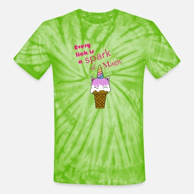 Lick Every Lick - Unisex Tie Dye T-Shirt