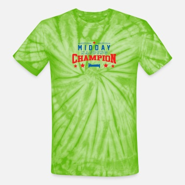 Midday New Design Midday Nap Champion Best Seller - Unisex Tie Dye T-Shirt