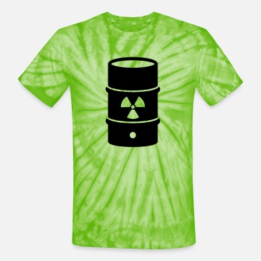 Atomic Energy atomic waste biohazard nuclear energy - Unisex Tie Dye T-Shirt
