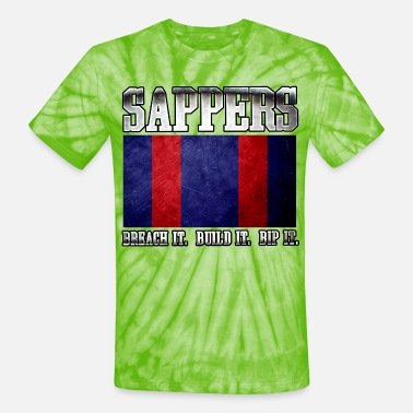 Canadian Military Sapper - Unisex Tie Dye T-Shirt