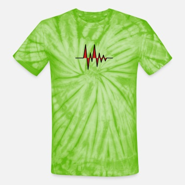 Monitoring Pulse - Unisex Tie Dye T-Shirt