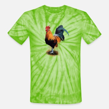 Rooster Rooster - Unisex Tie Dye T-Shirt
