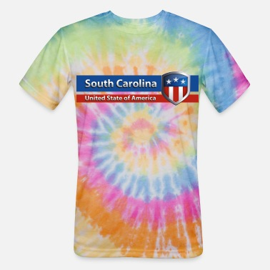 South Carolina - United State of America - Unisex Tie Dye T-Shirt