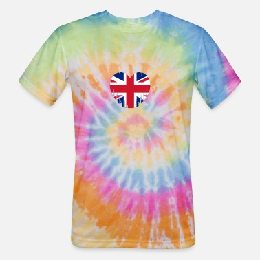 Elisabeth Ii Great Britain - Unisex Tie Dye T-Shirt