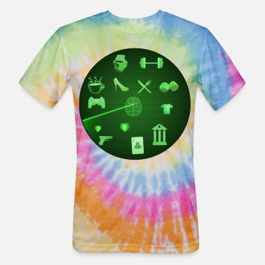 Radar a doppler radar - Unisex Tie Dye T-Shirt