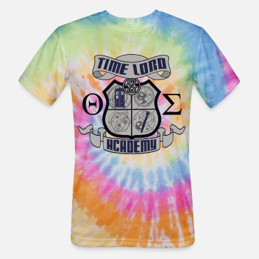 Time Lord Time Lord Crest - Unisex Tie Dye T-Shirt
