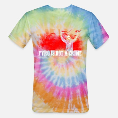 Ultras ACAB Pyro is not a crime - Unisex Tie Dye T-Shirt