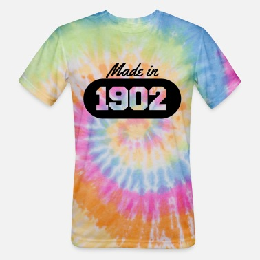 1902 Made in 1902 - Unisex Tie Dye T-Shirt