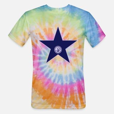 Explore your walk of fame + your name - Unisex Tie Dye T-Shirt