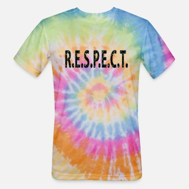 Franklin RESECT 60s Oldies Hit Song Titles - Unisex Tie Dye T-Shirt