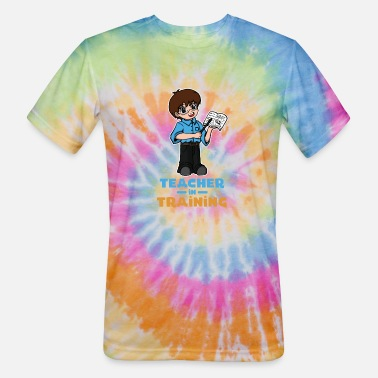 Teacher Training Teacher in Training - Unisex Tie Dye T-Shirt