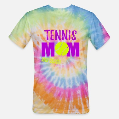 Tennis Game Tennis mom and coach gift sport - Unisex Tie Dye T-Shirt