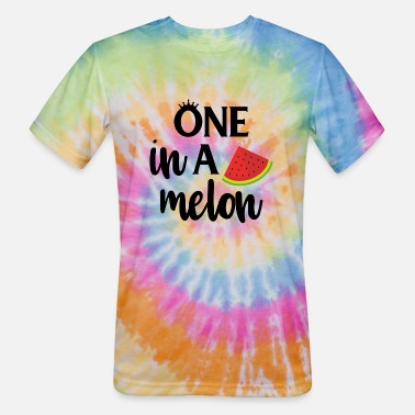 Melon one in a melon - Unisex Tie Dye T-Shirt