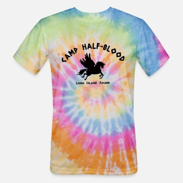Camp Camp Half Blood - Unisex Tie Dye T-Shirt