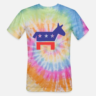 Democratic Democratic Party - Unisex Tie Dye T-Shirt