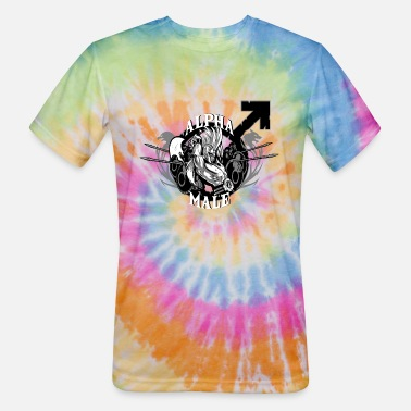 Mixed Martial Ar Alpha Male - Unisex Tie Dye T-Shirt