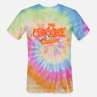 Texting THE COOKWELL COALITION - Unisex Tie Dye T-Shirt