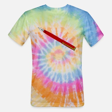 Pen Fountain Pen - Unisex Tie Dye T-Shirt