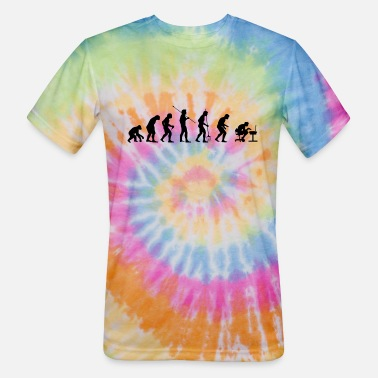 Gamers Gamer Evolution - Unisex Tie Dye T-Shirt