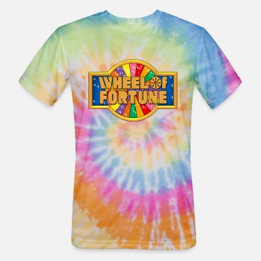 Fortune Wheel Of Fortune - Unisex Tie Dye T-Shirt