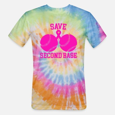 Base Save Second Base - Unisex Tie Dye T-Shirt