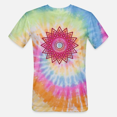 Cheerful Madness Pulsar by Cheerful Madness!! - Unisex Tie Dye T-Shirt