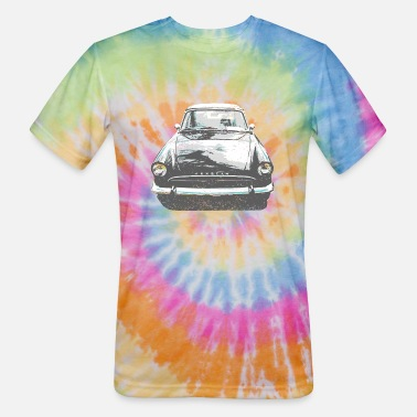 Tiger Sunbeam Cars - Unisex Tie Dye T-Shirt