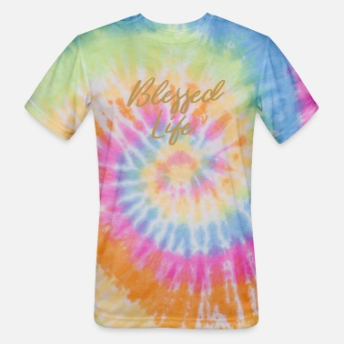 Blessed Life Blessed Life - Unisex Tie Dye T-Shirt