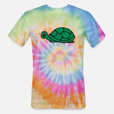 Sumu Lee Turtle - Unisex Tie Dye T-Shirt