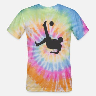 Bicycle Bicycle Kick Soccer - Unisex Tie Dye T-Shirt