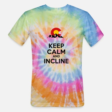 Incline Keep Calm and Incline - Unisex Tie Dye T-Shirt