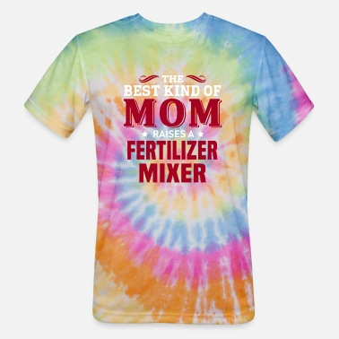 Fertilization Fertilizer Mixer - Unisex Tie Dye T-Shirt