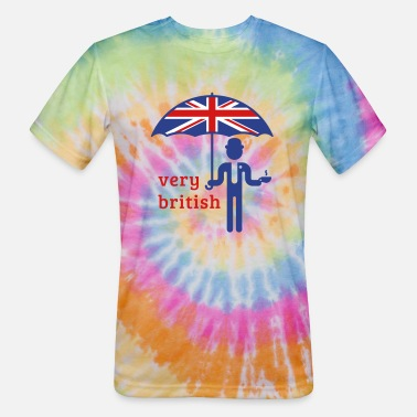 Ascot Very British (3C) - Unisex Tie Dye T-Shirt