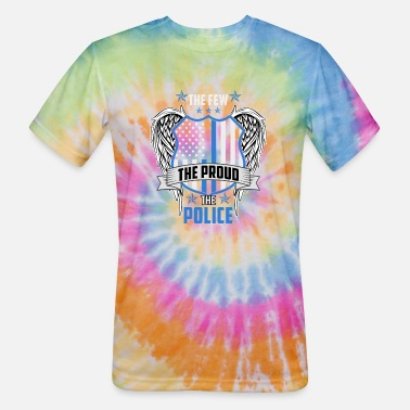 The Proud Police - Unisex Tie Dye T-Shirt