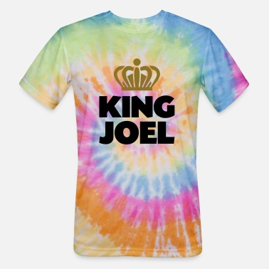 Joel King joel name thing crown - Unisex Tie Dye T-Shirt