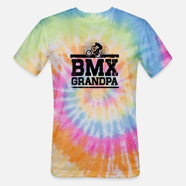 Bmx Grandfather BMX Grandpa - Unisex Tie Dye T-Shirt