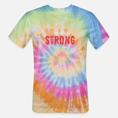 Swine Fever Stay strong quote - Unisex Tie Dye T-Shirt