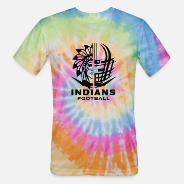 Indians Indians Football new1 - Unisex Tie Dye T-Shirt