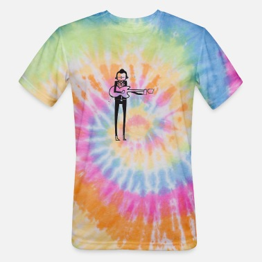 Cash Johnny Cash - Unisex Tie Dye T-Shirt