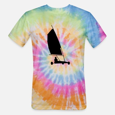 Land Vehicle land sailing - Unisex Tie Dye T-Shirt