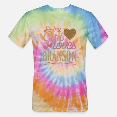 This Girl Loves Branson - Unisex Tie Dye T-Shirt