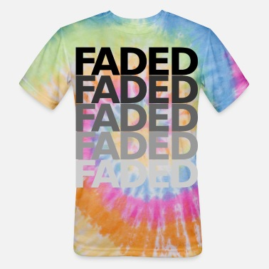 Fade FADED - Unisex Tie Dye T-Shirt