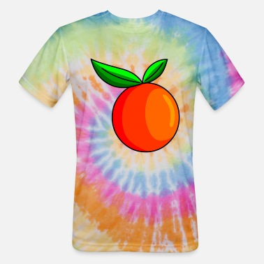 Fruit Images Of Orange Fruit Image - Unisex Tie Dye T-Shirt
