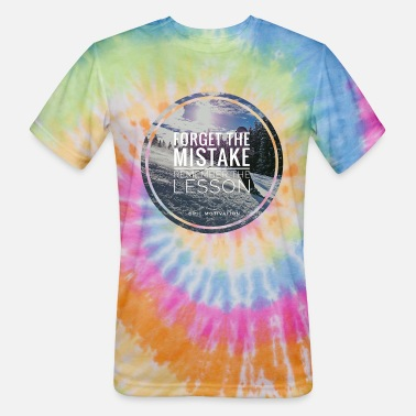 Remember The Lesson remember the lesson - Unisex Tie Dye T-Shirt