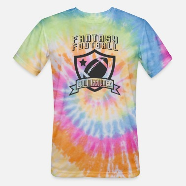 Commissioner Fantasy Football Commissioner - Unisex Tie Dye T-Shirt