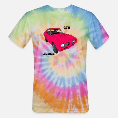 the judge color pink - Unisex Tie Dye T-Shirt