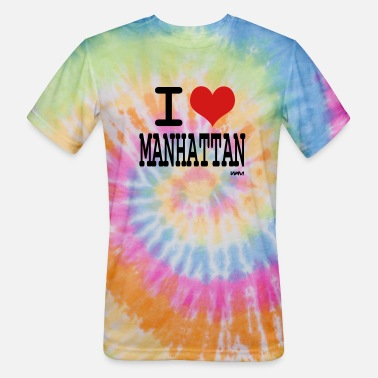 Ny i love manhattan by wam - Unisex Tie Dye T-Shirt