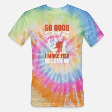 Tournament Fishing Fishing sport fisherman funny sayings - Unisex Tie Dye T-Shirt