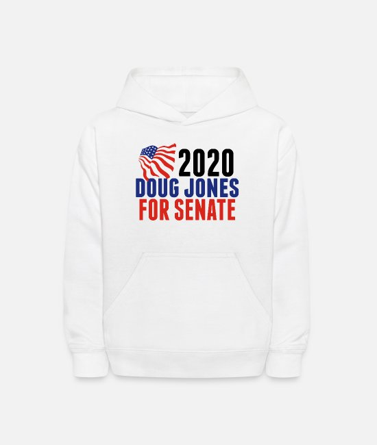 Congress Hoodies & Sweatshirts - Doug Jones for Senate - Kids' Hoodie white
