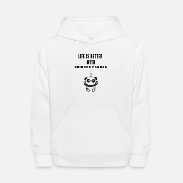 Magic Adorable Life Unicorn Lover Quotes - Kids' Hoodie